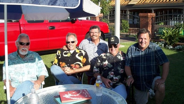 Phil Stadden, Ron Thomson, Bob Vaughn, Rick Adams, Jerry Hughes