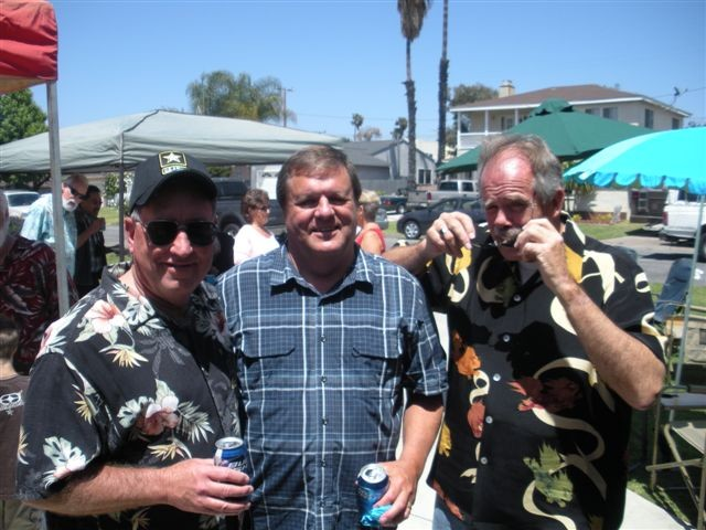 Rick Adams, Jerry Hughes, Ron Thomson